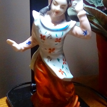 Made in occupied Japan figurine - Asian