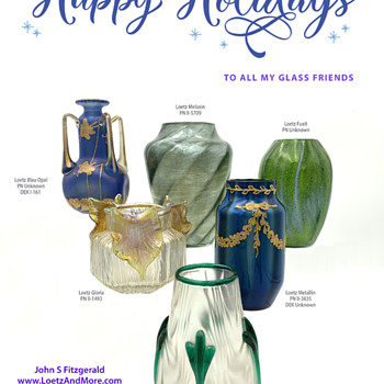Happy Holidays to all! - Art Glass