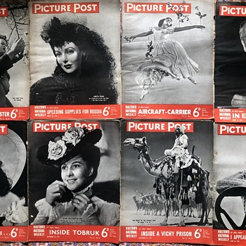 Picture Post Magazines 1940-1945. - Military and Wartime