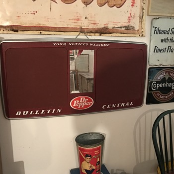 Dr Pepper Bulletin Central Board