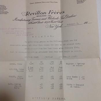 Revillon Freres - Paper