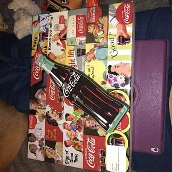 Coca Cola Advertising Puzzle - Coca-Cola