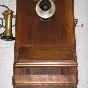 Wood Wall Phone from Argentina - Telephones