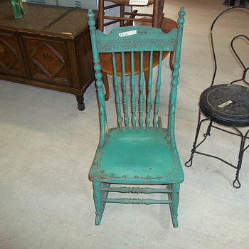VINTAGE WOODEN AND STEEL CHAIRS - Furniture