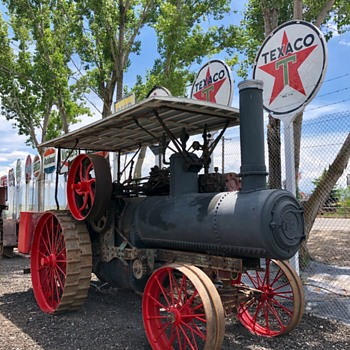 Steam Tractor - Signs