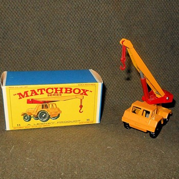 Mighty Macho Matchbox Monday MB 11 Taylor Jumbo Crane - Model Cars
