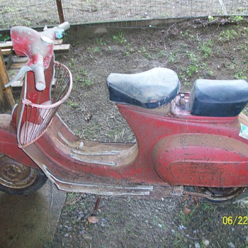 1967 Vespa Scooter - Motorcycles