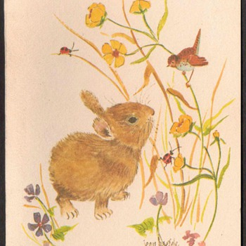 "1980's - ""Spring"" Note Cards - 1"