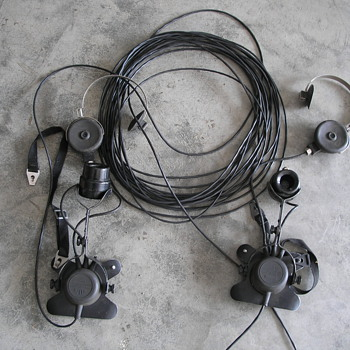US Instruments/Stromberg Carlson Sound Powered Military Phones - Telephones