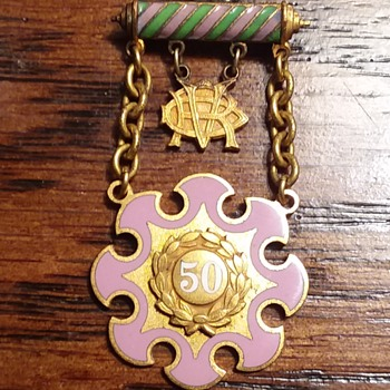 Mystery Badge - Medals Pins and Badges