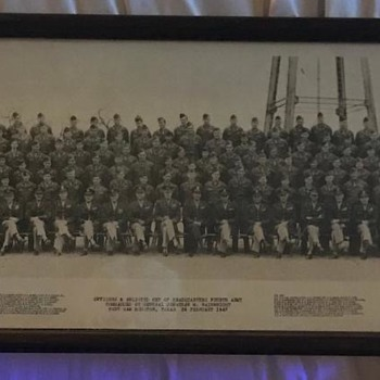1947 picture Fort Sam Houston  - Military and Wartime