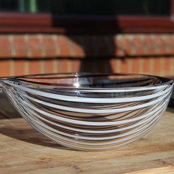Licio Zanetti 'Onion@ bowl - Art Glass