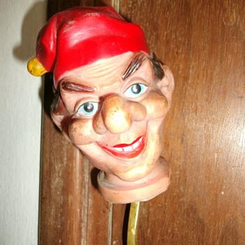 Vintage Puppet head. - Toys