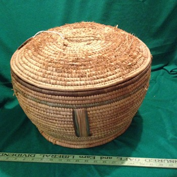 Who made my basket?  Anyone know what its origins might be?