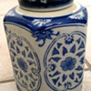 Chinese  Blue & White Covered Jar