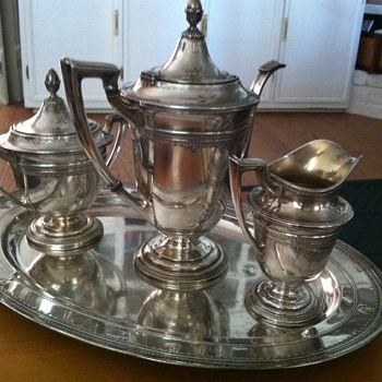 Sterling Tea Service - Silver