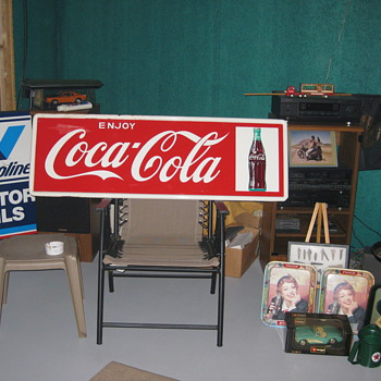 !964 Enjoy Coca- Cola Bottle on right near mint - Coca-Cola