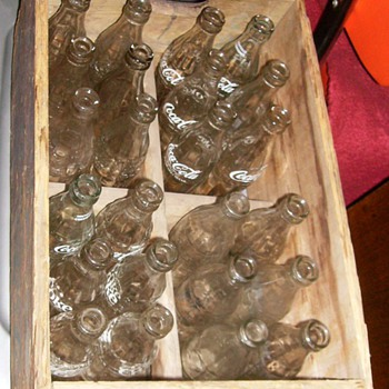 My Old Coca Cola Crate (24 bottles) - Coca-Cola
