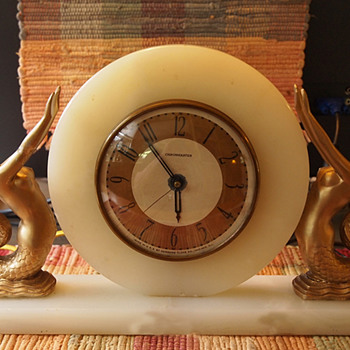 Art Deco 1928-31 Whitehall - Hammond Mermaid Clock