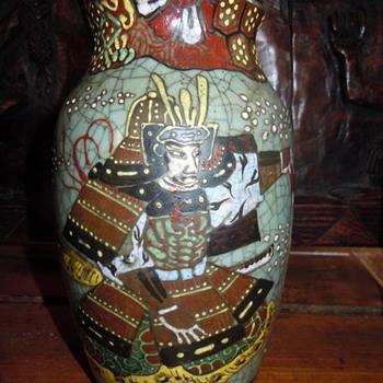 Japanese Pottery Celadon Crackle Glaze from SETO - Pottery