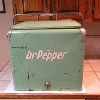 Dr Pepper Cooler