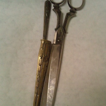 Robert Klaas scissors & letter opener