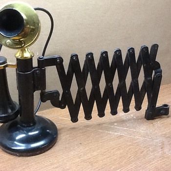 My old wall mount phone - Telephones