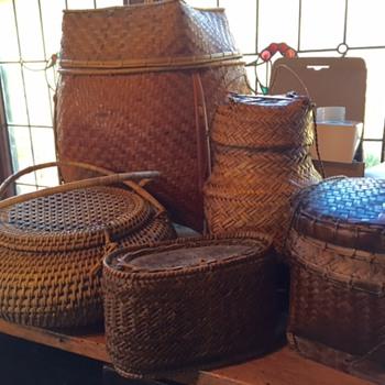 Old Phillipine baskets - Asian
