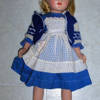 "Vintage 18"" Doll From Mom's Attic #1 - Dolls"