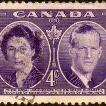 "1951 - Canada ""Royal Visit"" Postage Stamp - Stamps"