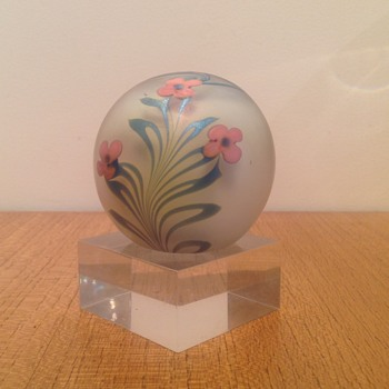 VANDEMARK PAPERWEIGHT FOUND IN OZ !!! - Art Glass