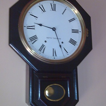My Grand Fathers Clock ( Seth Thomas ) - Clocks