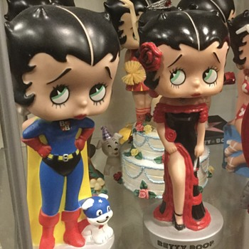 Betty Boop Bobble Dolls - Dolls