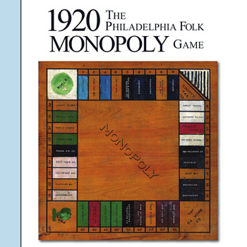 AGPI Article SUMMER 2018 - The 1920 Philadelphia Folk MONOPOLY Game - Games