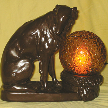 Old Dog Lamp - Lamps