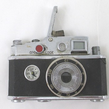 1950's Camera Lighter - Tobacciana