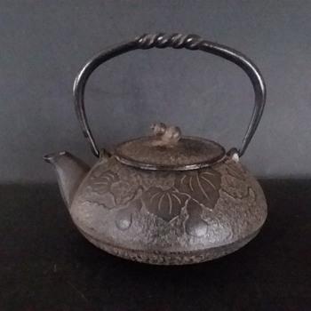 Oitomi cast iron Hisago Kyusu - Asian