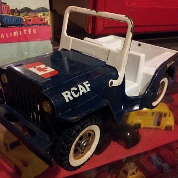 1966 RCAF Jeep. Tonka Canada.