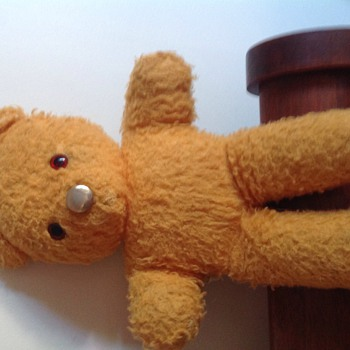 Old teddy made in England.