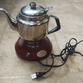 Early electric wireless stainless steel tea kettle - Kitchen