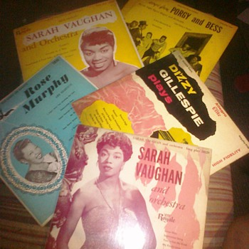 78 and LPs  vinyl records found at my grandmothers - Records