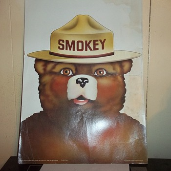 SMOKEY THE BEAR POSTER - Posters and Prints