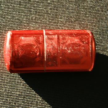 Vintage Red Cigarette Lighter - Tobacciana