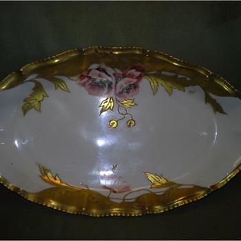 Limoges platter