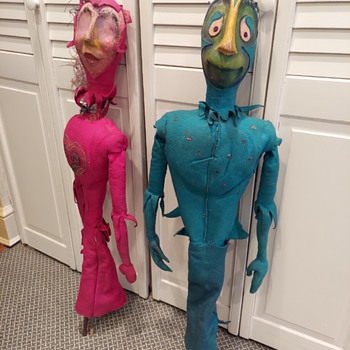 Vintage Puppets - Toys