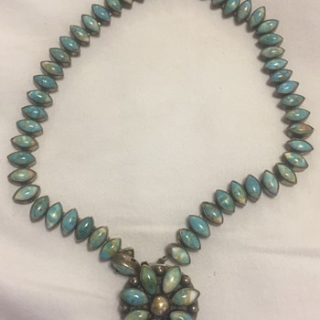 Navajo Turquoise Necklace - Native American