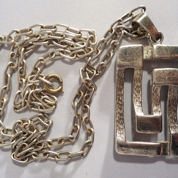 Austrian necklace - Costume Jewelry