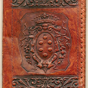Genuine Leather Book Cover - Books