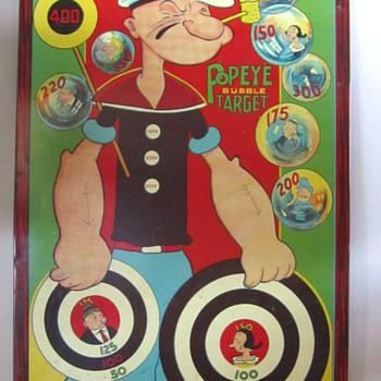 Popeye Dart Board - Toys