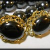 Jewelry Set ~ Hematite ~ ( Alaska Black Diamond )
